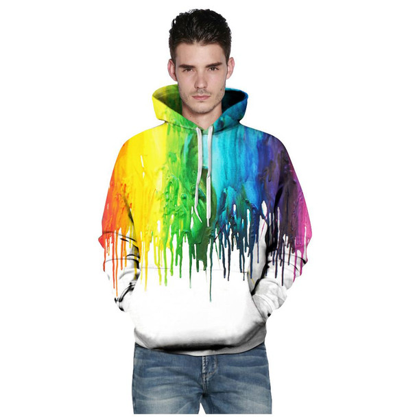 Men/Women New Fashion Splash Painting 3d Print Hoodies Sweatshirt Hoodies With Cap Casual Sweatshirt Hoodie Tracksuits Pullove