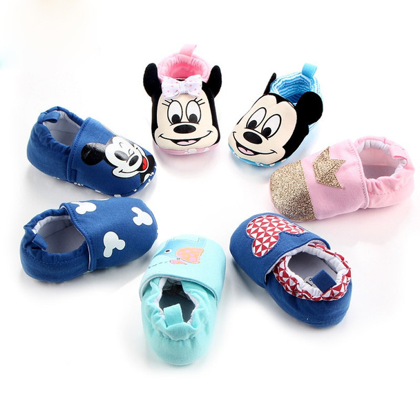 Fashion Cotton Cloth Baby First Walker Cartoon Infant Boy Girls Shoes Bebe Toddler Moccasins Non-slip Soft Bottom Shoes