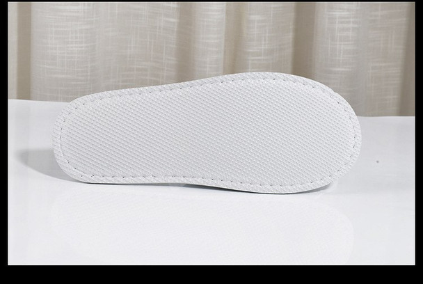 Top Quality White Fleece Close Toe Spa Slippers home guest slippers Salon Spa Pedicure Flip Flop Tools For Men and Women