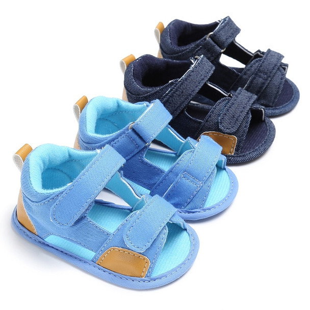 2017 Summer Kids Baby Boys Sandals Canvas Children Sandals For Boys Casual Toddler Shoes Breathable Sandals Fashion