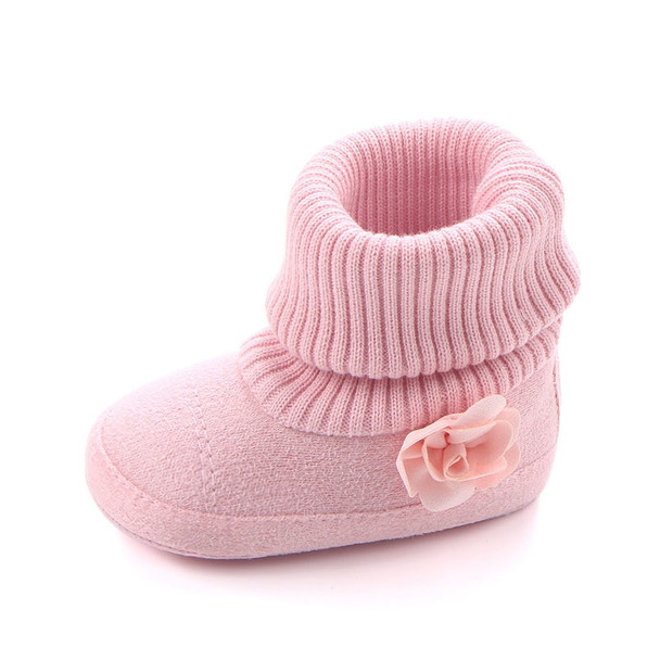winter baby girl shoes cotton knitting Booties for newborns girls Footwear for newborns infant crib shoes