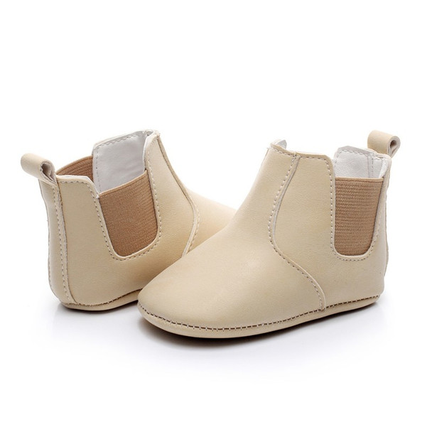 Baby Leather Moccasins Warm Winter Shoes Newborn Girls First Walkers Infant Toddler Soft Soled Anti-slip Boots Booties