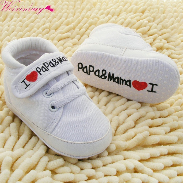 Toddler Newborn Shoes Baby Infant Kids Boy Girl Soft Sole Canvas Sneaker 0-18Months