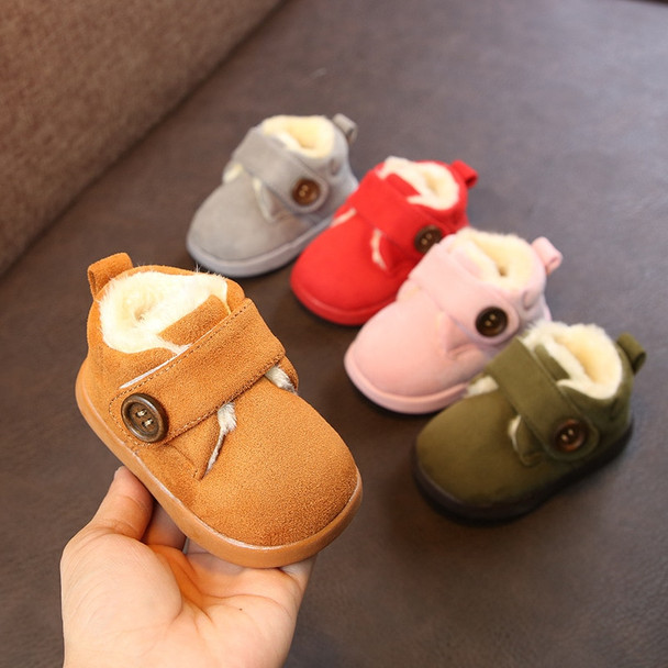 2018 Winter Infant Newborn Toddler Boots Baby Girl Boy Snow Boots Warm Thicken Plush Kids Child Boots Soft Bottom Non-slip Shoes