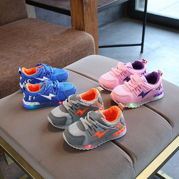 2018 European LED lighted Patch unisex girls boys shoes Cool cute baby sneakers cool casual toddlers glitter baby casual shoes