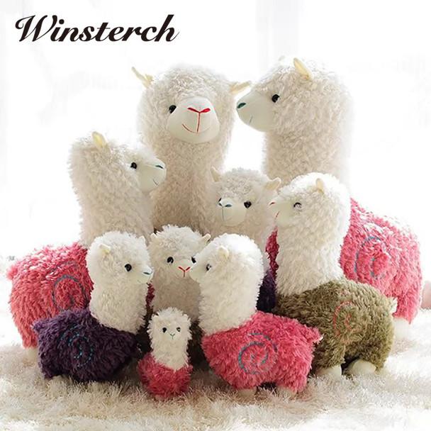 Cute Plush Stuffed Llama Alpaca Animals Toys Soft Plush Llama Llama Gifts Kids Toys Baby Dolls Brinquedos Gifts WW343