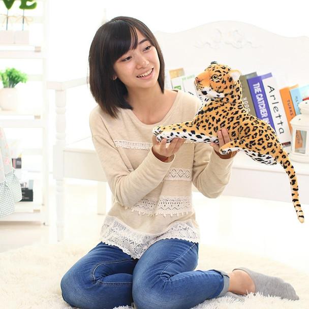 30-110cm Cute artificial Leopard plush toy Leopard Toys Room Decor animals stuffed cloth doll baby birthdya gift Imitate doll