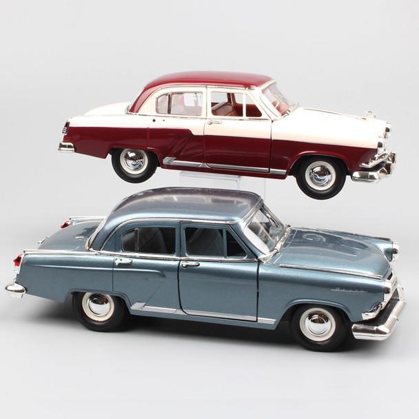 1/24 Scale Russia USSR Gorkovsky Gorky GAZ M21 Volga 1957 luxury vintage automobile metal die cast model miniature car toy kids