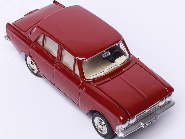 1/43 ATLAS DINKY TOYS 1410 MOSKVITCH 408 Alloy Diecast Car model & Toys Model Hot for Collection Wheels Car Models 1:43