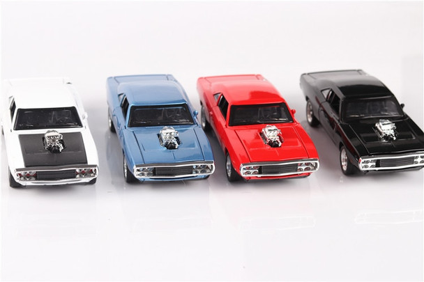 1/32 Diecasts & Toy Vehicles the fast and the Furious Dodge Car Model With Sound&Light Collection Car Toys For Boy Children Gift