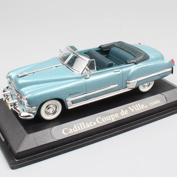 1/43 Scale road signature vintage luxury 1949 Cadillac Coupe de Ville DeVille convertible metal car vehicle die cast model toys