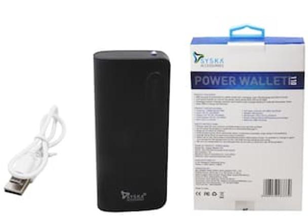 SYSKA POWER WALLET 110 (11000mAh Power Bank)
