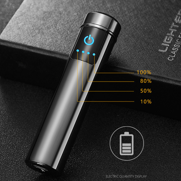 Arc Lighter Windproof Electronic USB Recharge  Cigarette Smoking Electric gift Lighter for wedding anniversary gift