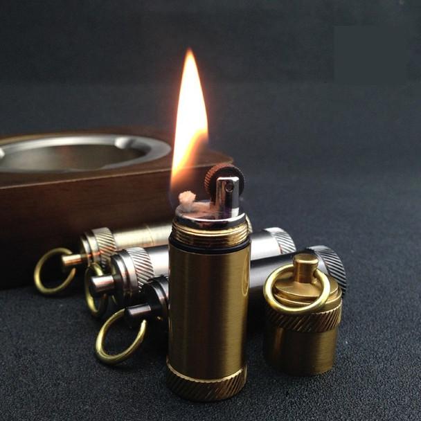 kerosene wheel  retro vintage mini  lighter,Portable personality gasoline lighter,Gadgets pendant(( Lighter No fuel)