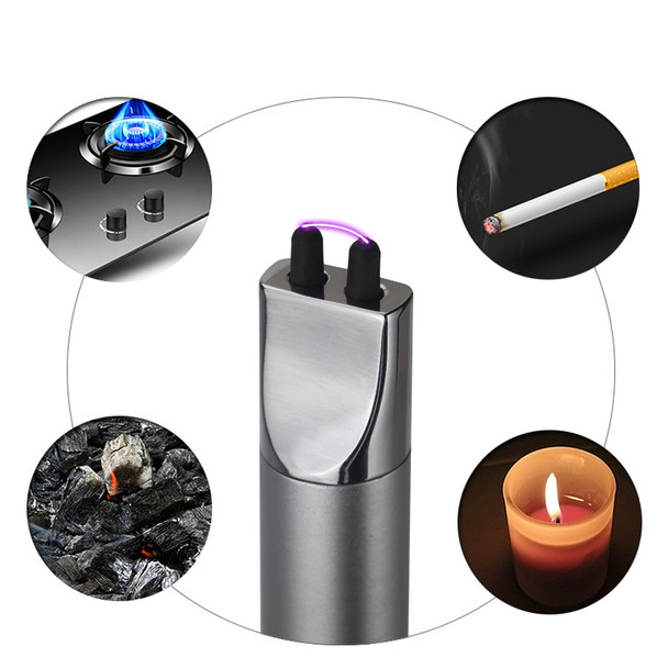 2018 SLIM BBQ Candle Ignition  Electric Pulsed Arc Lighter Flameless Safe Kitchen Rechargeable Ignition USB Lighters