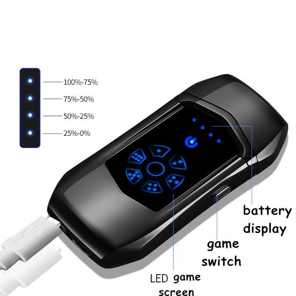 2018 USB Fingerprint Lighters Electronic USB Recharge  Cigarette Smoking Electric gift Lighter for boyfriend gift