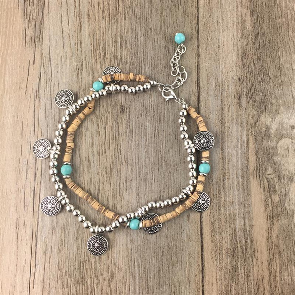 2017 new BAREFOOT SANDALS Boho barefoot beach bohemian anklet Hippie style Ankle bracelet Handmade Gypsy Wedding party jewelry