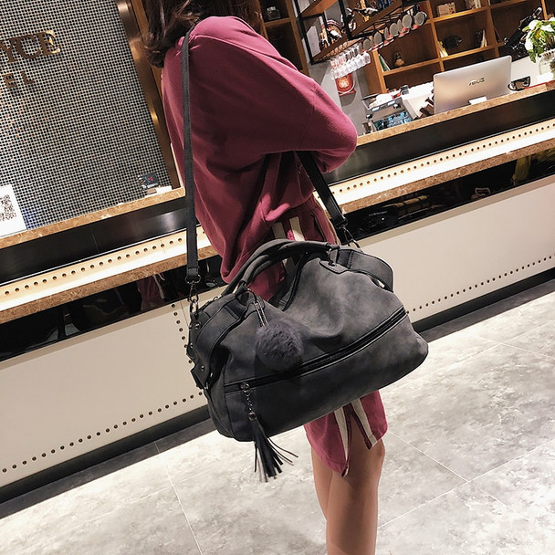 Big Handbag Suede 2018 New Women Bag Designer Handbags High Quality Pu Large Capacity Vintage Crossbody Shoulder Messenger Bag