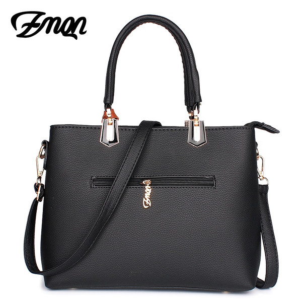 ZMQN Women Luxury Handbags Women Bags Designer Famous Brand Tassel PU Leather Luxe Crossbody Bags Simple Compartment Black A810