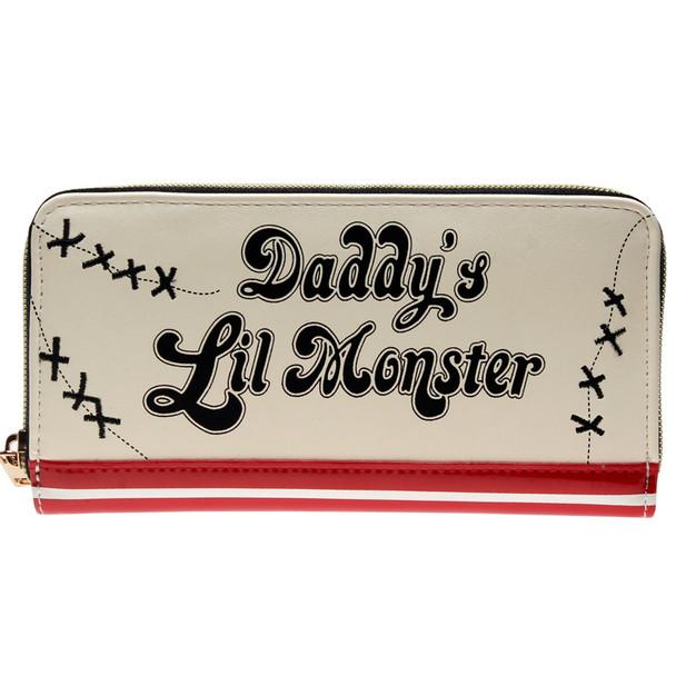 Harley Quinn Daddys Lil Monster Jrs Zip Around Wallet DFT-1888
