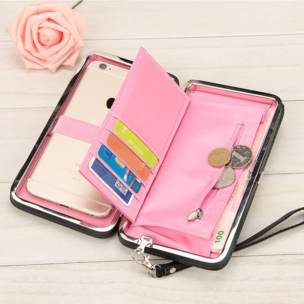 Fashion Female wallets High-quality PU Leather Wallet Women Long Big Capacity Clutch Card Holder Pouch Mobile Phone Bags Purses