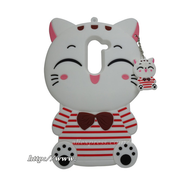 Cute Cat Case For Huawei Honor 6X Case 3D Cartoon Lucky cat Soft Silicon Cover For Huawei Honor 6X / Mate 9 Lite 5.5 inch case