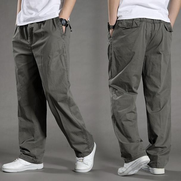 men Harem tactica Pants brand 2018 summer Sagging cotton pants men Trousers plus size sporting Pant Mens Joggers Feet pantsL-6XL