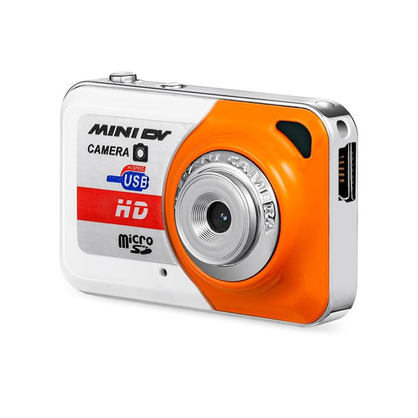 X6 Portable Digital Camera Ultra High Definition Mini Camera PC DV Shooting Recording Camera with Microphone without TF Card