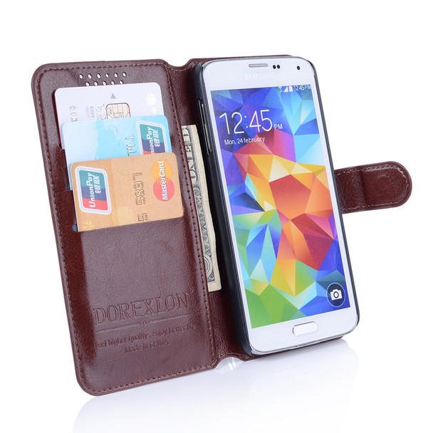 Wallet Leather Case For ZTE Nubia N2 Luxury Retro Flip Coque Phone Bag Cover For ZTE Nubia N2 5.5 Inch Fundas Stand Card Holders