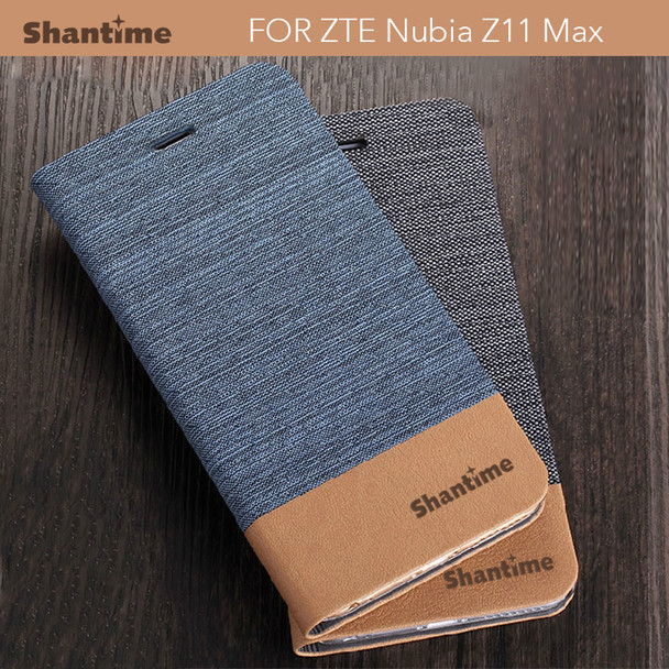 "For Zte Nubia Z11 Max Flip Case Luxury Pu Leather Phone Case For Zte Nubia Z11 Max 6.0"" Business Case Soft Silicone Back Cover"