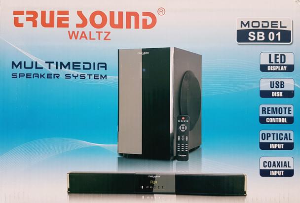 WALTZ True sound Multimedia Wireless Home Theater System HD 14000 PMPO (SB 01) (home theater system (SB 01))