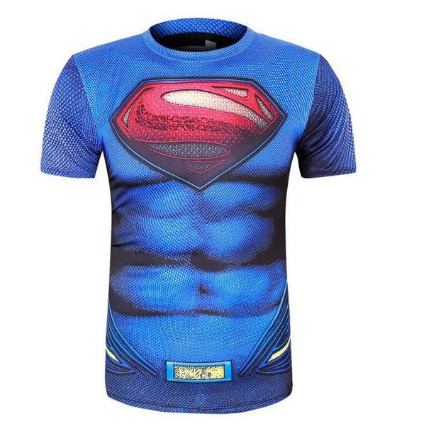 2017  man Hulk Batman Retro Spiderman Venom Ironman Superman Captain America Marvel T shirt Avengers Superhero T-shirts
