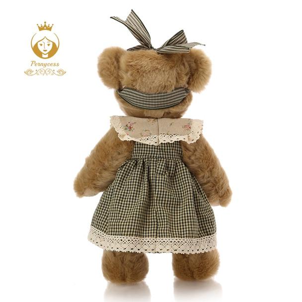1PCS 30CM cute retro teddy bear plush stuffed toys, plush joint bear doll, kids toys, appease dolls, birthday gift