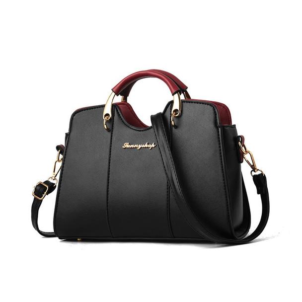 21club Brand Shell Bag Women's PU Leather Handdbags Large Capacity Shopping Work School Tote Clutch Bag Ladies Brand Handbags