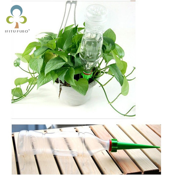 4 pcs Indoor auto drip irrigation watering system Automatic plant waterers for bonsai houseplant  households garden accessories