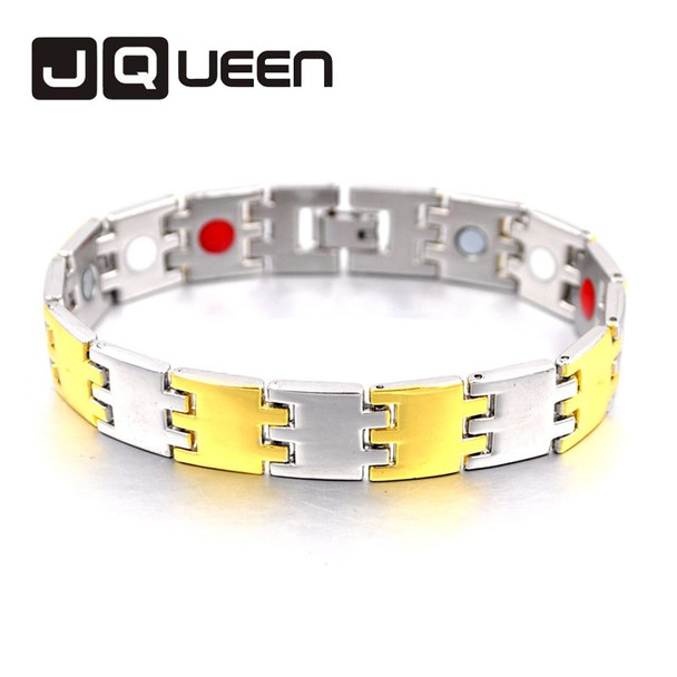 2018 Healing Magnetic Copper Energy Bracelet For Men Blood Pressure Accessory Men Silver Bracelets Fashion Jewelry