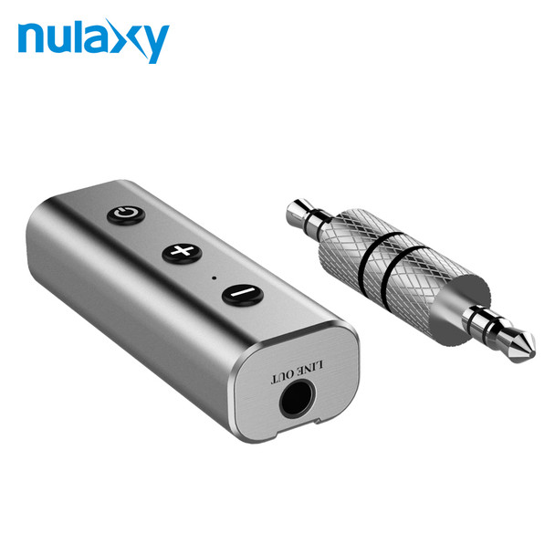 Nulaxy Bluetooth Receiver 3.5mm Jack Bluetooth Audio Music Wireless Receiver Adapter Car Aux Cable Free For Speaker Headphone