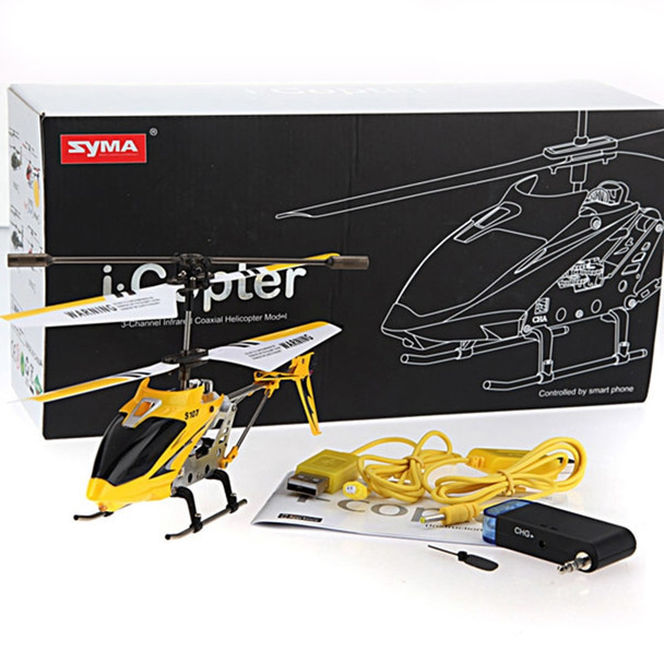 SYMA S107G 3CH RC Helicopter Radio Remote Control Mini Drone Drop Resistant Aircraft Gyro Copter Toys FJ88