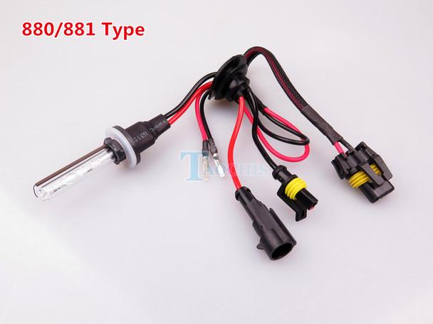 TAOCHIS Car styling 12V AC 35W 55W HID Xenon Car H1 H3 H7 H8 H9 H11 9005 9006 881 Replacement Head Light Bulb 3000K 4300K 6000K