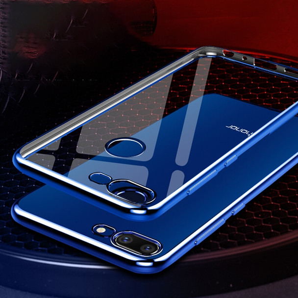 for Huawei Honor 9 lite Case Soft Silicone Protective Cover Clear Transparent Plating Case for Huawei Honor 9 lite Case Bumper