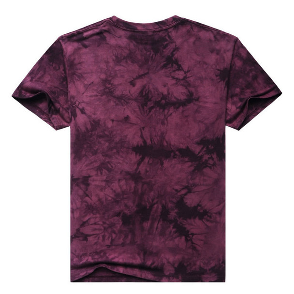 2017 Men 3D T Shirt Animal Short Sleeves Cotton O-Neck Tiedye Personalized T-Shirt Water Printed Tee Shirts T-Shirts Clothes A8 Imported