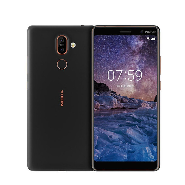 Nokia 7 Plus Android Mobile Phone 6.0'' FHD Snapdragon 660 Octa core Cellphone 3800mAh 4/6GB RAM 64GB ROM 4G LTE NFC Smartphone