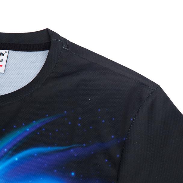 2017 Summer Brand Cool T-shirt Men/Women 3d Tshirt Print Blue Fire Snake Short Sleeve Summer Tops Tees Hip hop T shirt Fashion