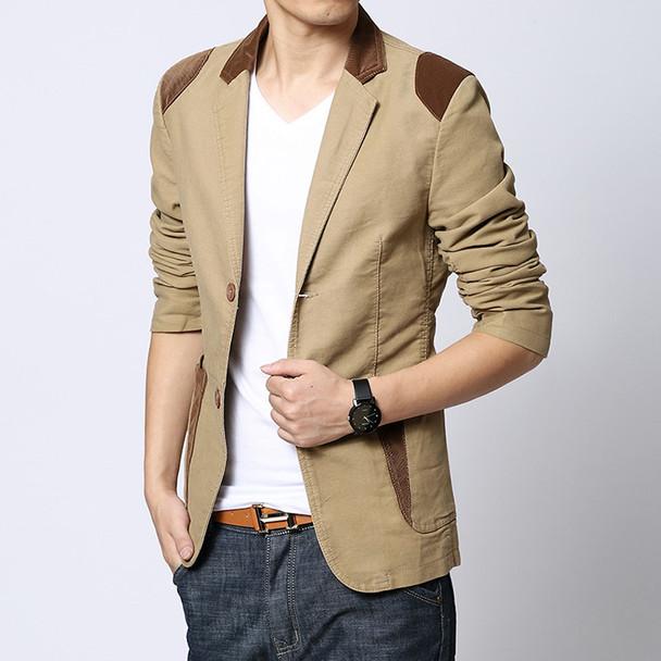 Mens blazer Casual khaki Slim Fit Plus Size 4XL 5XL 6XL Suits Jacket Blazer Men 3 Colors M-6XL for men big size new Male coat