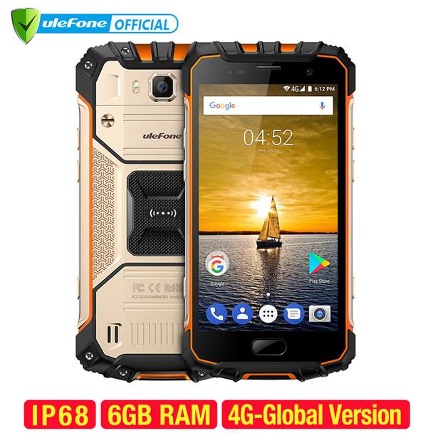 Ulefone Armor 2 Waterproof IP68 Smartphone 5.0 inch FHD MTK6757 Octa Core Android 7.0 6GB RAM 64GB ROM 16MP 4G Global Version