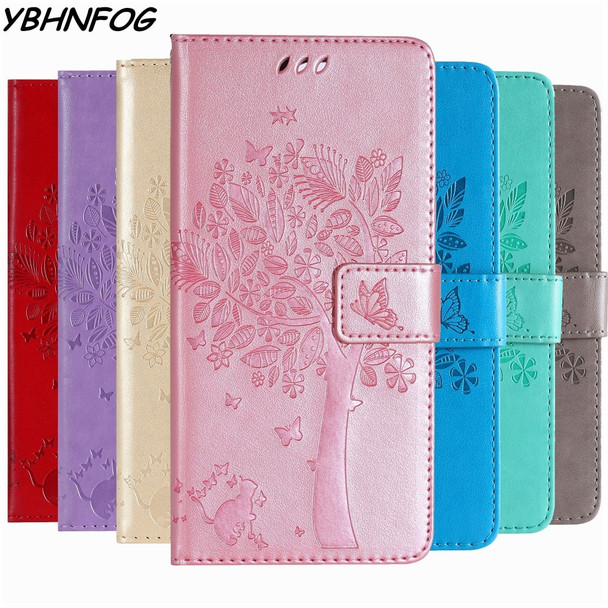 PU Leather Flip Cover Wallet Phone Case For Coque Samsung Galaxy J4 J6 A6 A8 Plus 2018 A3 A5 J3 J5 J7 Prime 2017 2016 Stand Bags