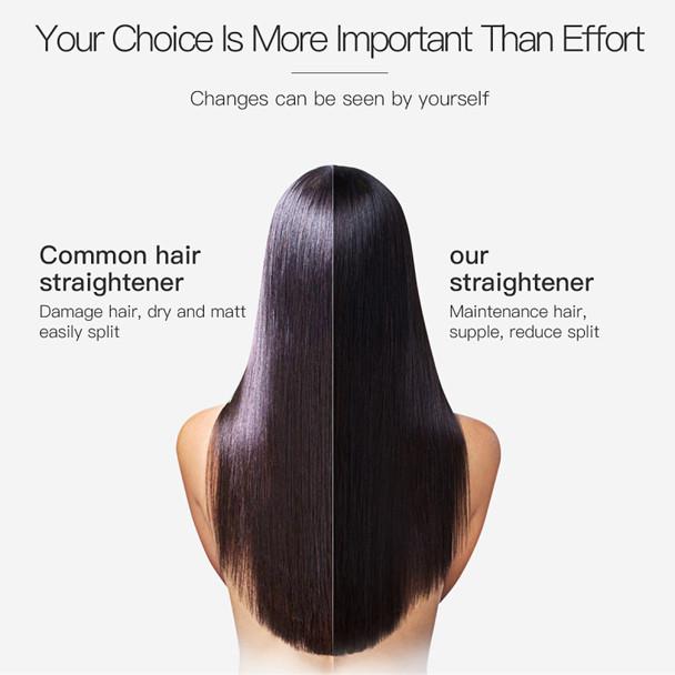 2017 USA Design Pro Nano Titanium Plate 2 IN 1 Professional Hair Straightener Flat Iron Curling Irons Straight Hair Styling Tool