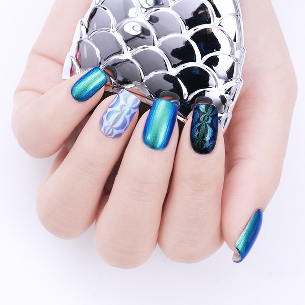6ml BORN PRETTY Chameleon Pearl Nail Stamping Polish 6ml Image Printing Lacquer Colorful Manicure Stamp Varnish for Nail Plates