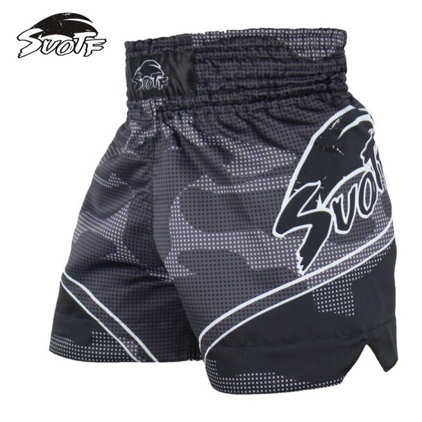 SUOTF White Tiger Tiger Boxing Sports Boxing White Tiger Boxing Shorts Contest Training Special Shorts kickboxing shorts mma