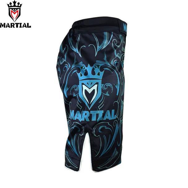 Martial: Virgo original design mma fight shorts grappling short kick boxing men gym shorts box fighting trunks
